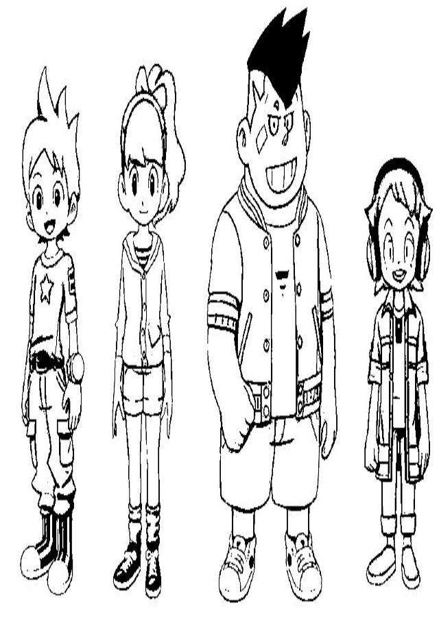 personajes yo-kai watch