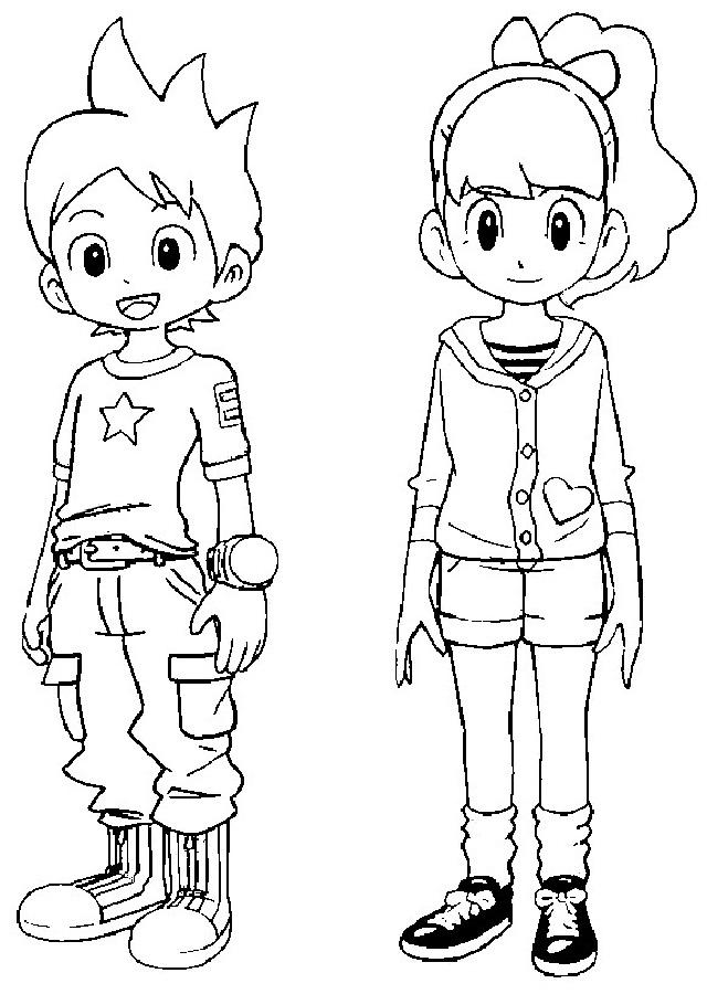 💠YO-KAI WATCH - Dibujos para colorear