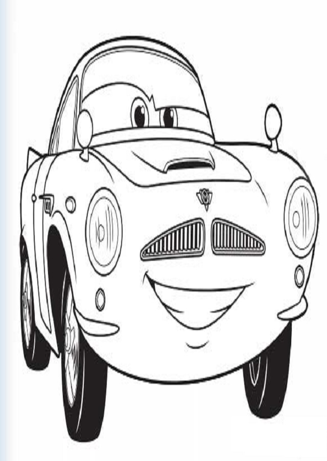 imagen para pintar coche carrearas Finn