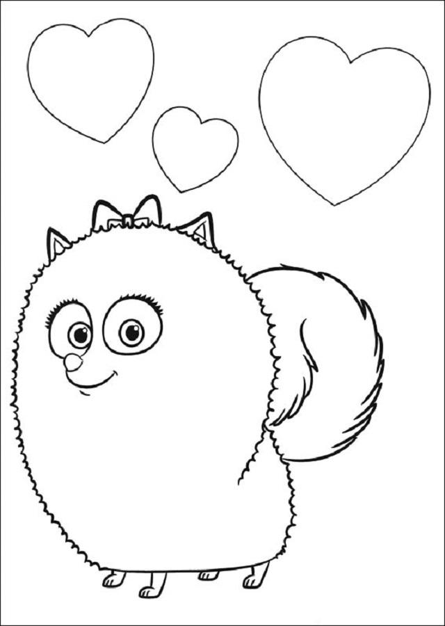 Es una perrita que aporta mucha diversión. ¡Parece un animal hecho de algodón! protagonista de la pelicula Mascotas.