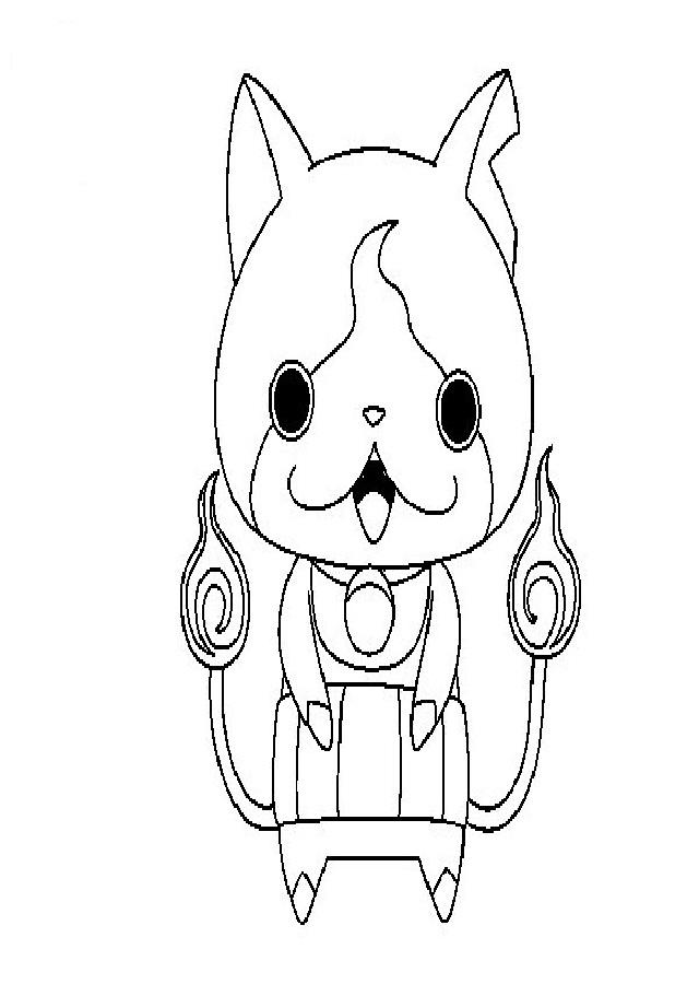 Es un adorable y peleón gato Yo-Kai que siempre está dispuesto a ayudar en las misiones.