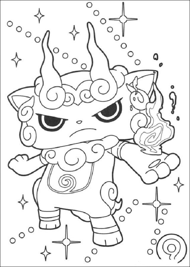 yo-kai-para-pintar - Dibujos para colorear
