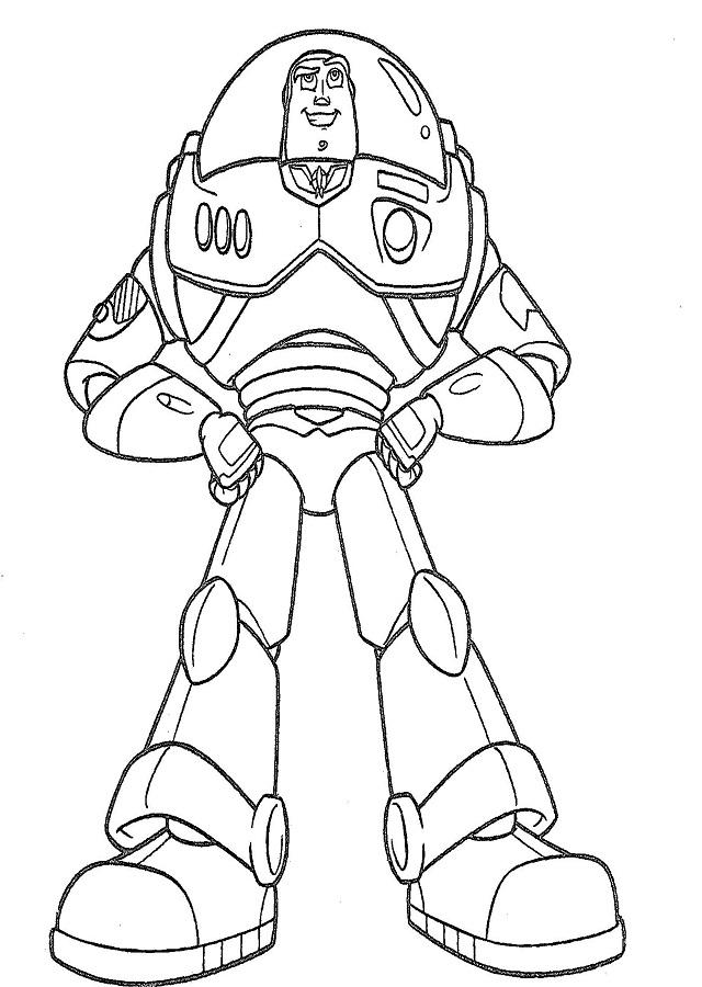 Buzz Lightyear Es la figura de acción, nacido para conquistar tierras lejanas y ser el líder. Aparece como nuevo regalo de cumpleaños de Andy.