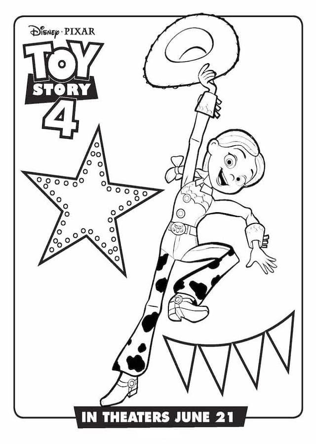 ToyStory-4-dibujos-para-colorear-Jessie