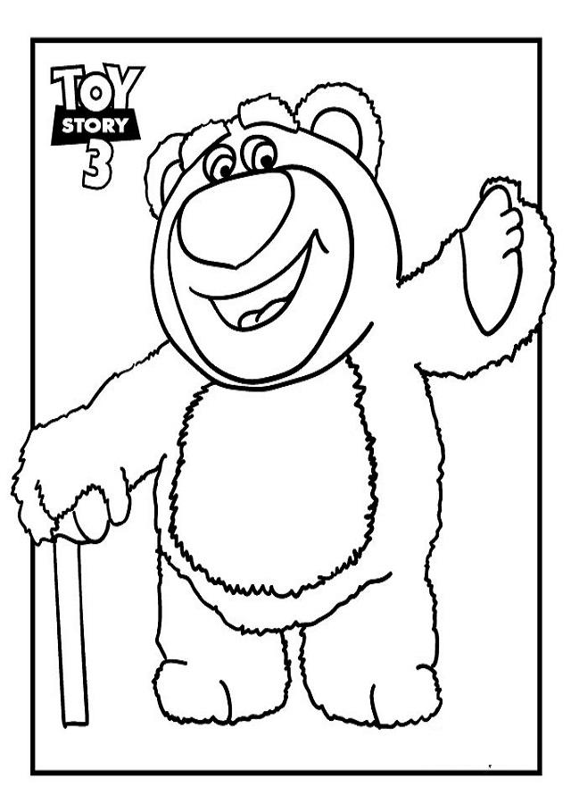 Es un enorme oso extra suave con cuerpo rosado y blanco, y nariz violeta aterciopelada.