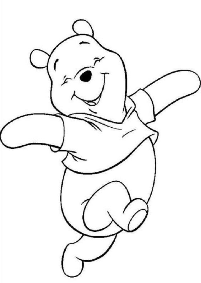 💠Dibujos para pintar Winnie The Pooh - Dibujos para colorear