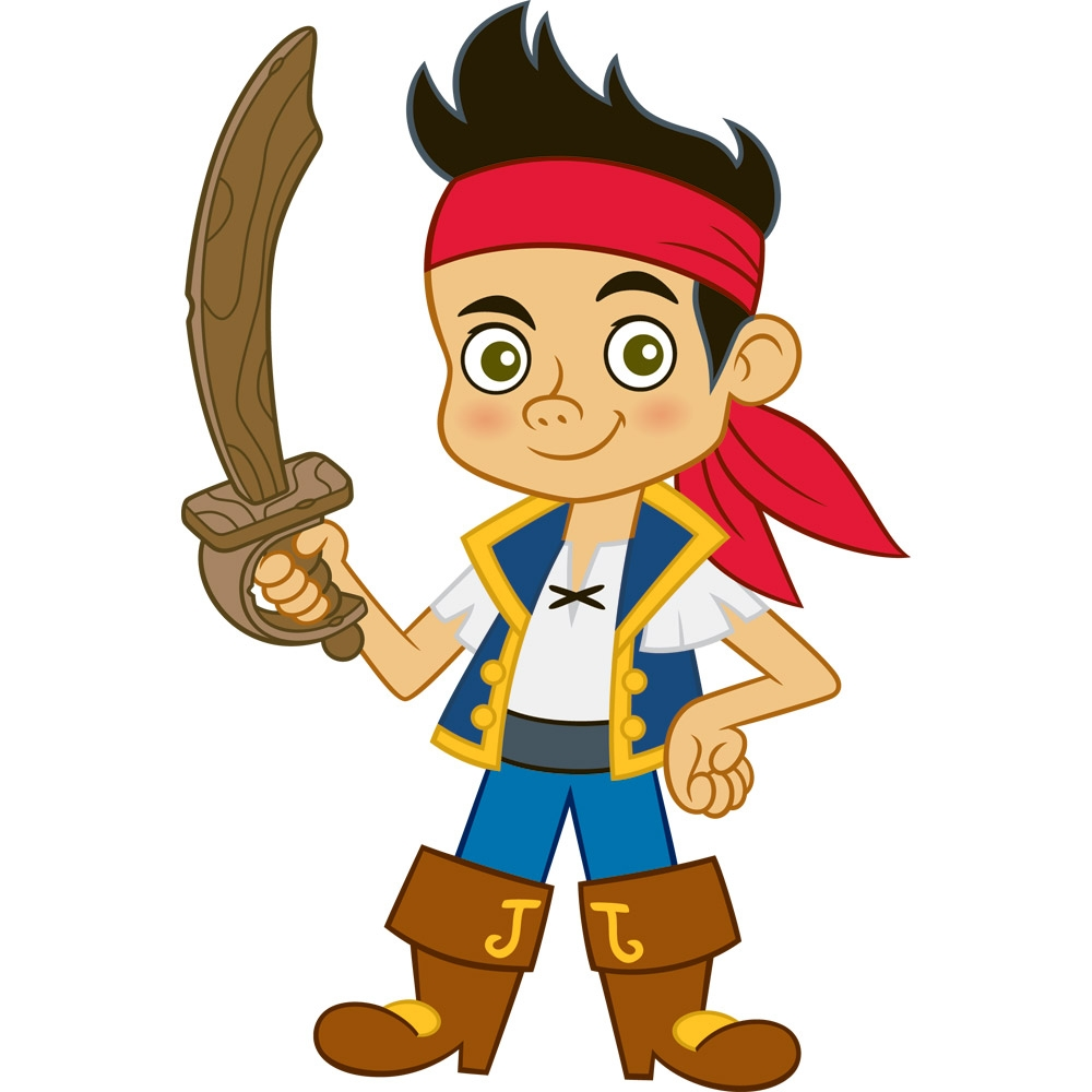 Jake y los piratas de nunca jamas - Dibujos para colorear