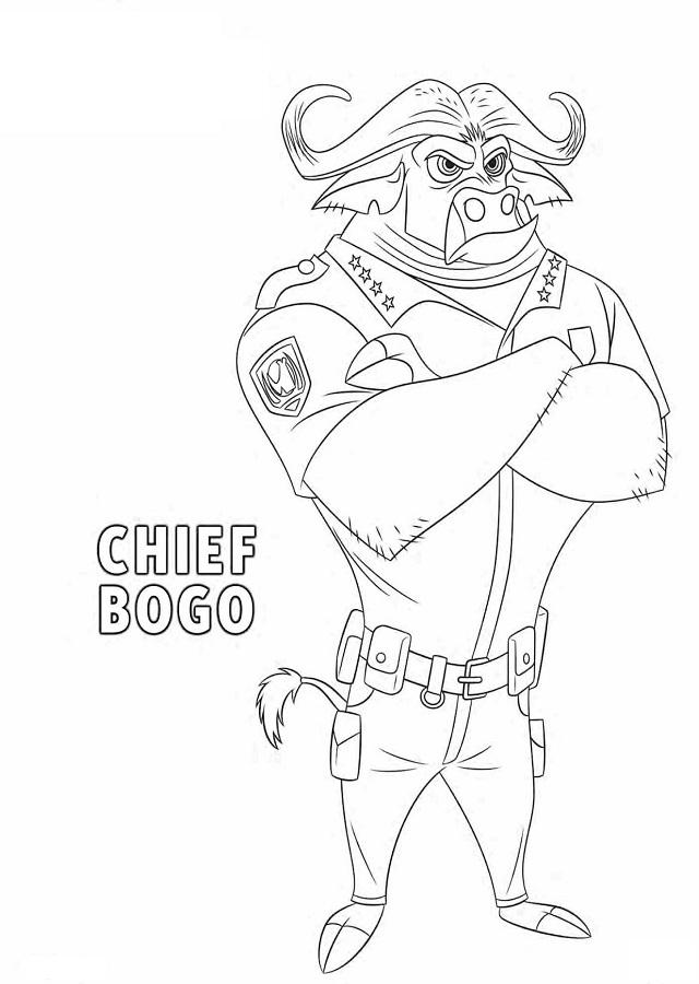 Este búfalo no es muy partidario de que una conejita forme parte del cuerpo de policía de Zootrópolis.