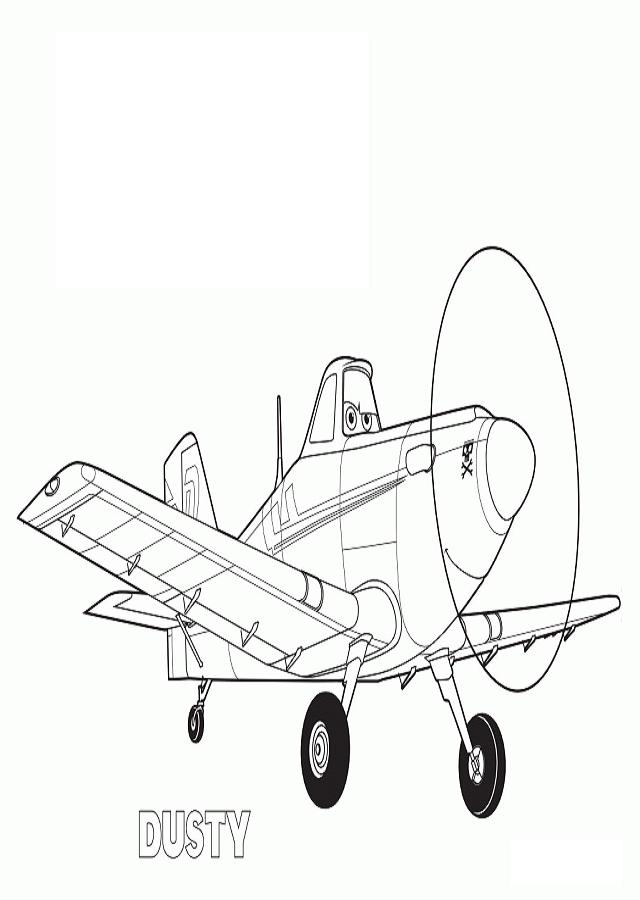 Aviones Planes Dibujos Para Colorear