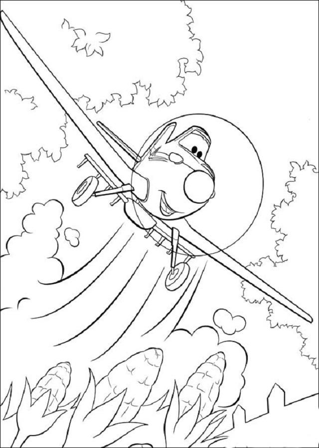 💠Aviones | Planes - Dibujos para colorear