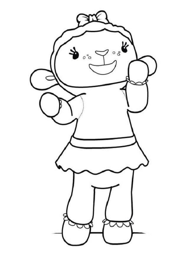 Es una oveja de peluche que colabora siempre que puede. Es dulce y muestra entusiasmo con todo lo que hace.
