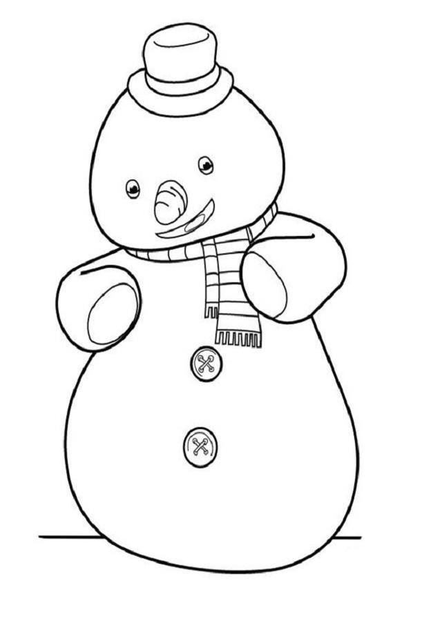 Es un muñeco de nieve muy divertido e inquieto, que es el mejor amigo de Felpita, es muy nervioso a la hora de estar en la clínica de Doc, además de ser hipocondriaco, le gusta jugar cuando es debido y también le gusta mucho dormir, tiene una nariz de zanahoria pero también le gusta comer mucho.