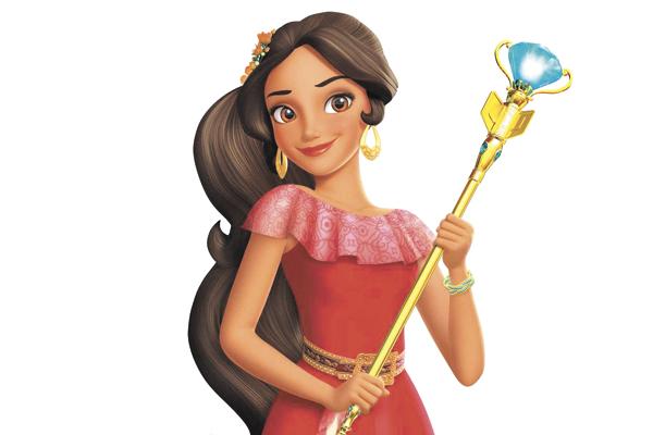 La princesa Elena es una adolescente amable y segura de sí misma que salvó el reino encantado de Avalor de una hechicera malvada. Con ayuda de su familia y amigos, ahora debe gobernar el reino como heredera al trono hasta que tenga edad suficiente para ser reina.