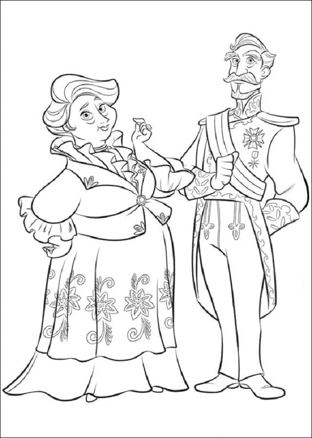 Francisco y Luisa son los abuelos de Elena, que le brindan su amor y su apoyo.