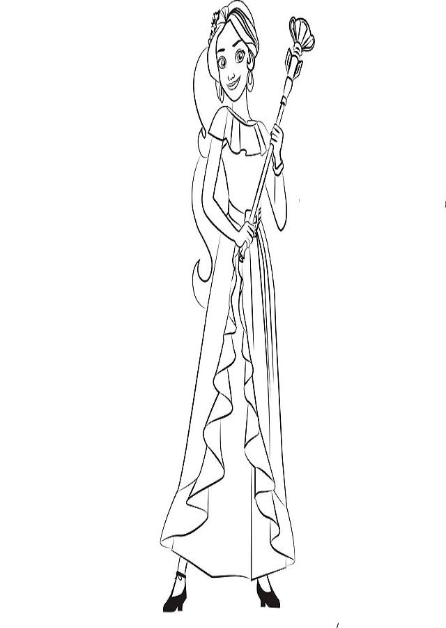 Elena es la princesa valiente y compasiva heredera al trono del reino encantado de Avalor.