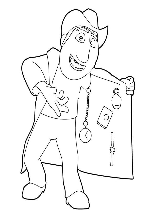 Freddy es un peculiar guía peruano con un sorprendente abrigo mul tiusos. Es, literalmente, un negocio andante. Con el humor como mejor arma, intentará en cualquier situación vender todo el arsenal de objetos que lleva siempre encima.