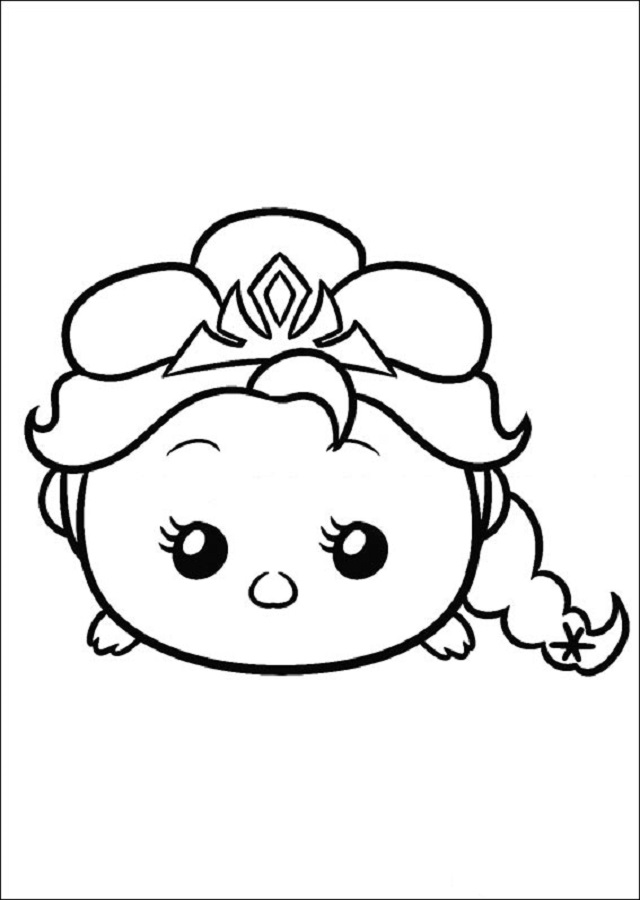 Dibujos Tsum Tsum Dibujos Para Colorear
