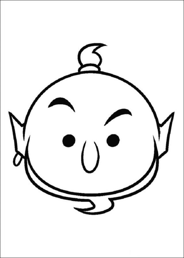 Dibujos tsum tsum dibujos para colorear - Dessiner aladin ...