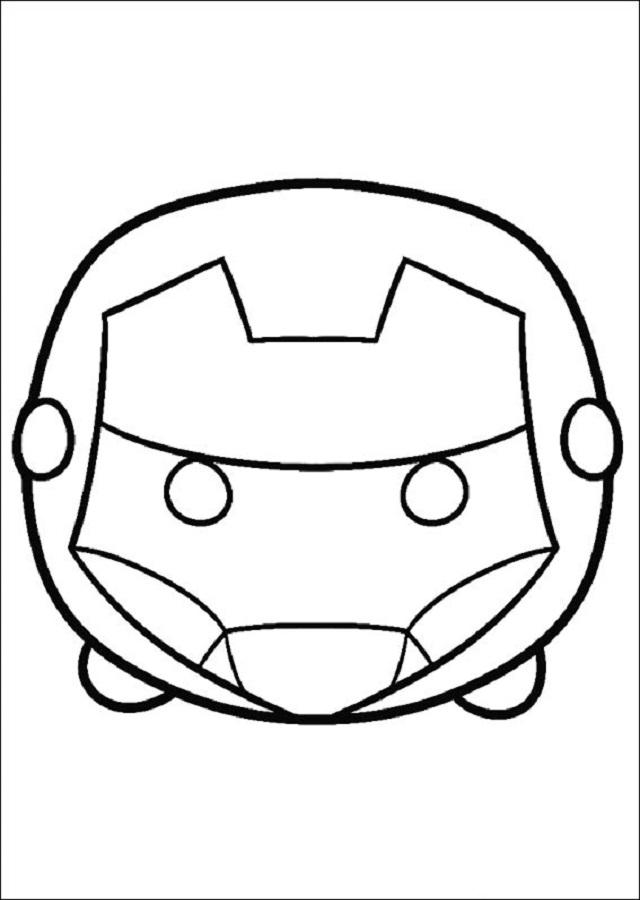 Dibujos Tsum Tsum - Dibujos para colorear