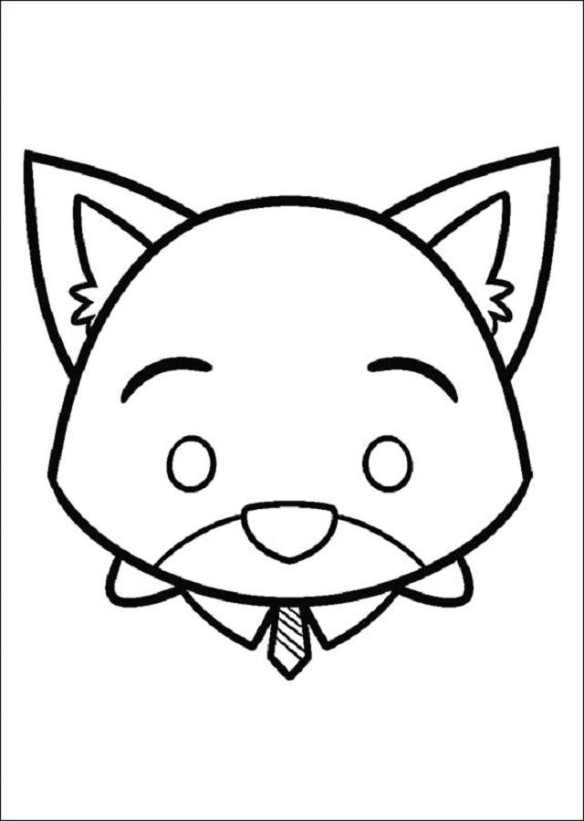 Dibujos Tsum Tsum - Dibujosparacolorear.eu