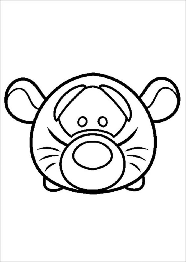 💠Dibujos Tsum Tsum - Dibujosparacolorear.eu