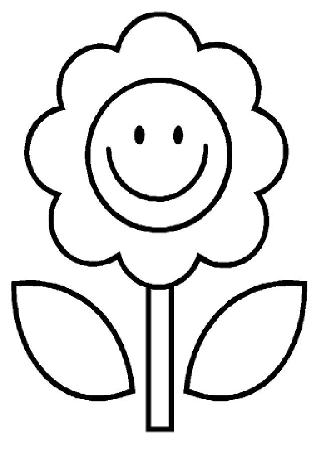 Flores Para Colorear Dibujosparacolorear Eu