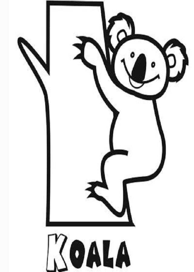 Koalas Para Colorear Dibujos Para Colorear