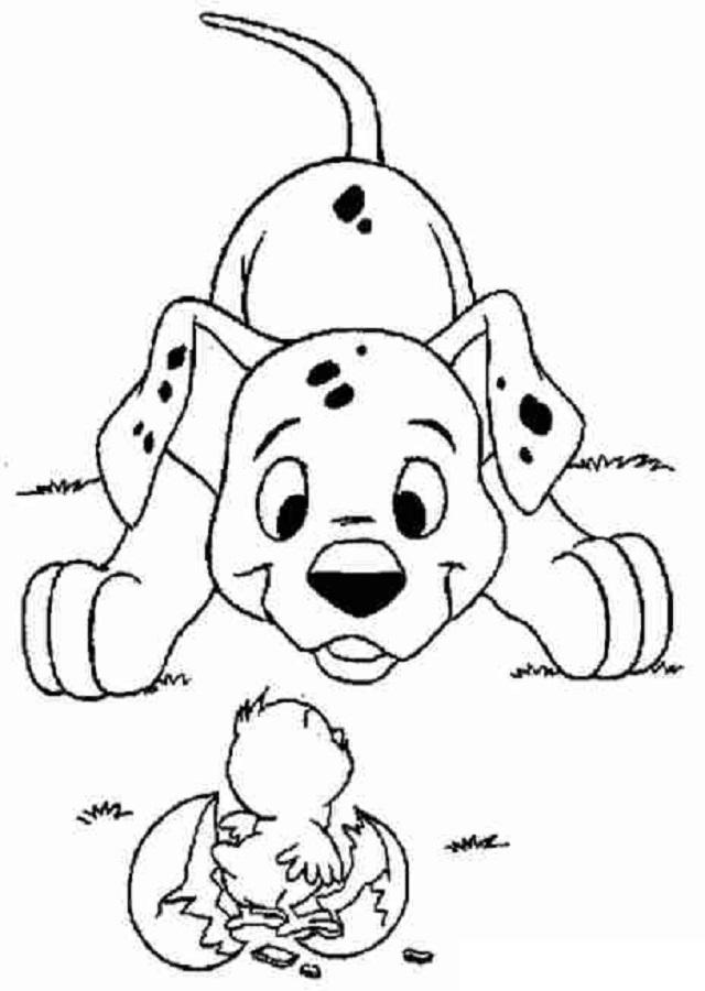 Perros Para Colorear Dibujos Para Colorear