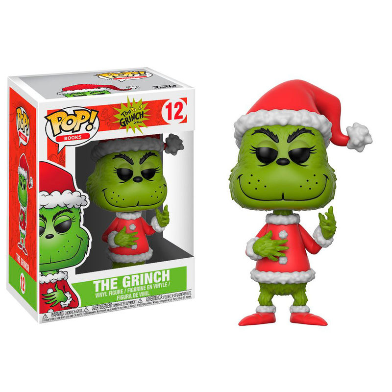 ✅Comprar Figura POP! Vinyl The Grinch in Santa Outfit 5 + 1 chase ...