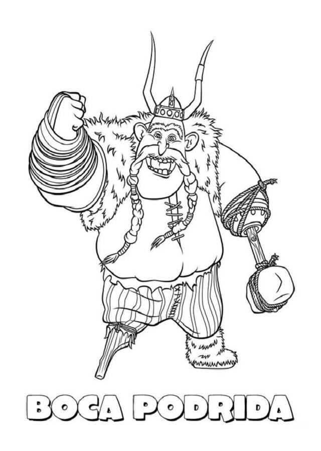 Dibujos Para Colorear Cómo Entrenar A Tu Dragón Dibujos Para