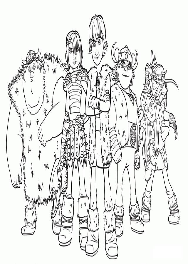 dibujo para colorear hipo y su pandilla de amigos