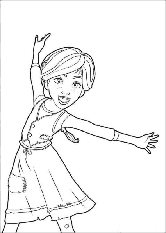Dibujos Para Colorear Ballerina Dibujos Para Colorear