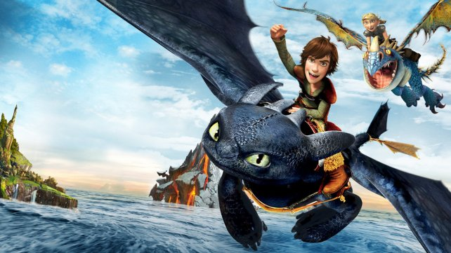 imagen pelicula como entrenar a tu dragón