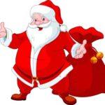 Weihnachtsmann-Bild