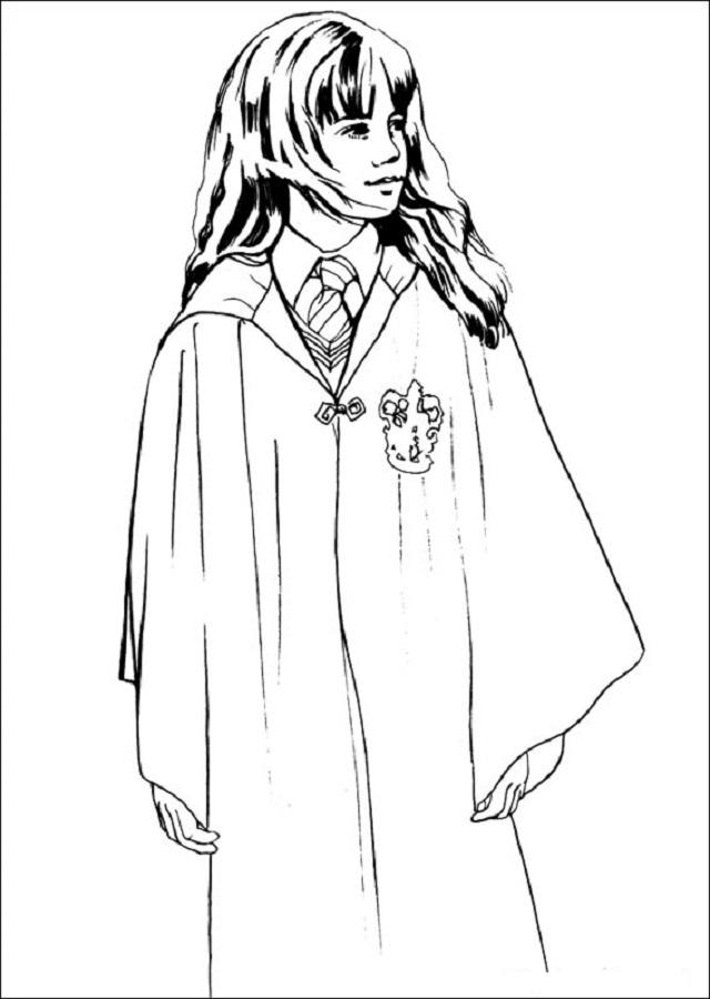Dibujos Para Colorear Harry Potter Dibujos Para Colorear