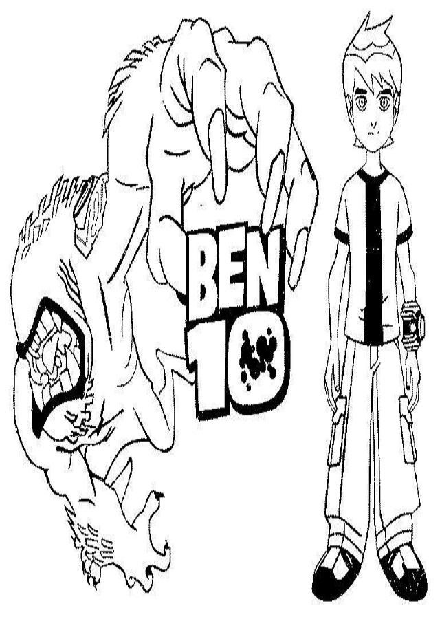 💠Dibujos para colorear Ben 10 - Dibujos para colorear