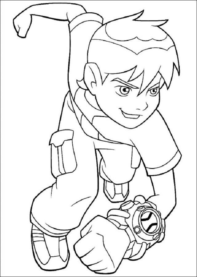 Ben tiene 10 años, juega a los videojuegos, monta en bici y a veces se mete en líos. Cuando obtiene el poder de convertirse en extraterrestres, se da cuenta de que debe usarlo para hacer el bien.
