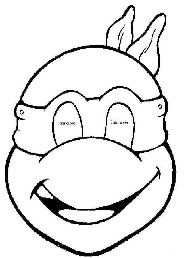Tortugas Ninja Para Colorear Dibujos Para Colorear