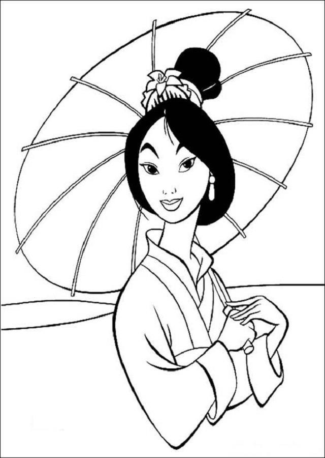 Fa Mulán es la protagonista de las películas Mulan y Mulan II. Ella se inspira en Hua Mulan del legendario poema chino La balada de Hua Mulan.