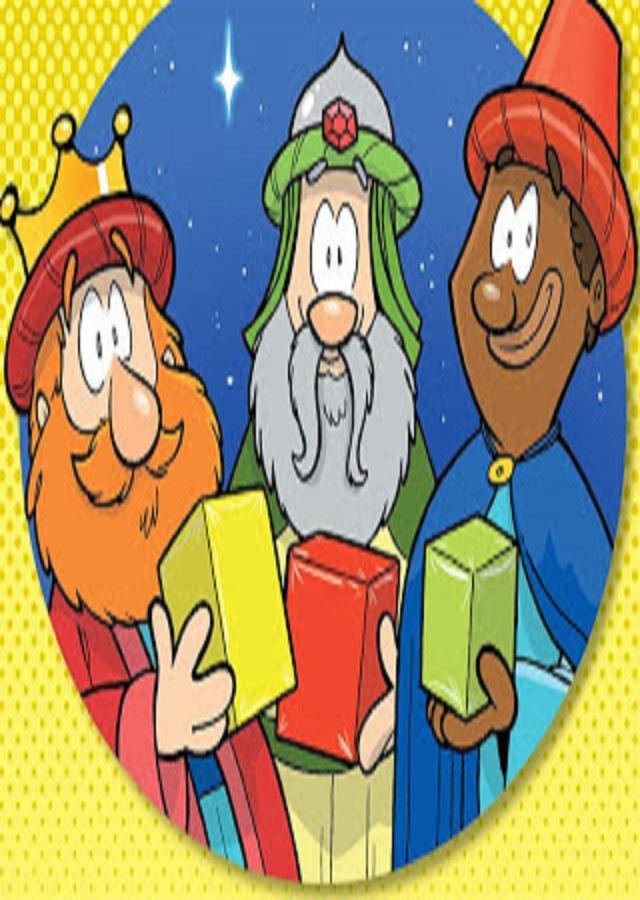 Dibujos De Los Reyes Magos A Color Dibujos Para Colorear