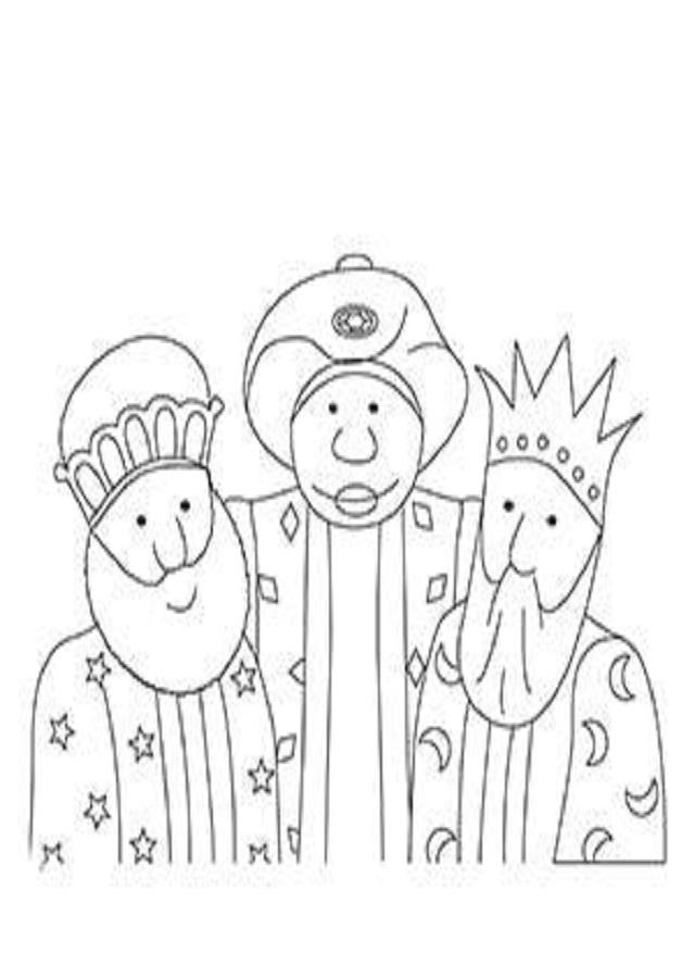 Dibujos Para Colorear Reyes Magos Dibujos Para Colorear