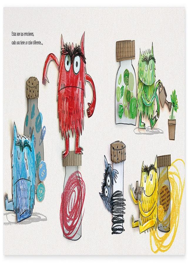 Dibujos Para Colorear Monstruo De Los Colores Dibujos