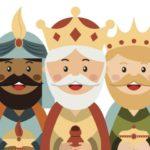 Dibujos para colorear Reyes Magos