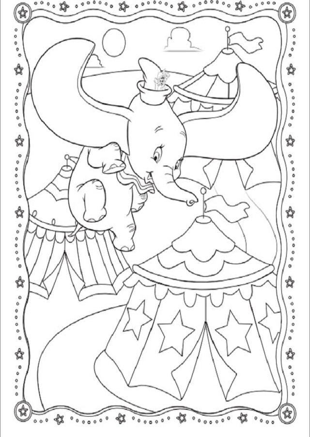 dibujo-dumbo - Dibujos para colorear