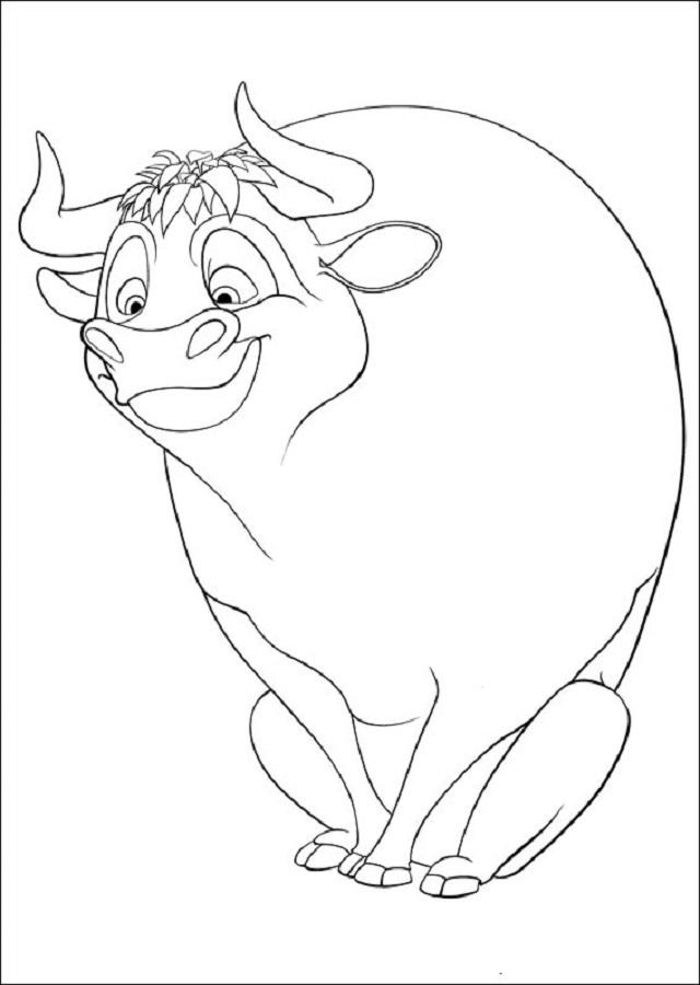 💠dibujos para colorear Ferdinand - Dibujos para colorear