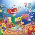 Dibujos para colorear la Sirenita
