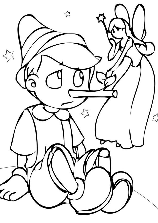 Dibujos Para Colorear Pinocho Dibujos Para Colorear