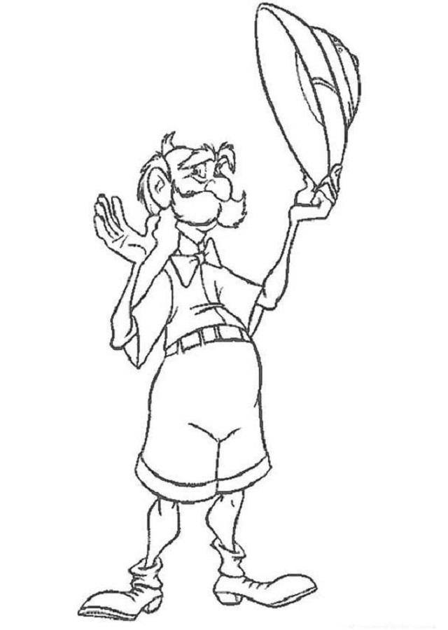 """Él y su hija Jane llegaron a África a estudiar a los gorilas. Cuando conocieron a Tarzán se quedaron a vivir en la jungla. El Profesor es como un """"ciéntífico chiflado"""", muchos de sus inventos no salen bien y, a veces no recuerda lo que estaba haciendo. Tantor, el elefante, suele ayudarle en sus experimentos científicos. Porter tiene un rival desde que era joven en la academia: Samuel T. Philander; quien le roba sus descubrimientos e ideas para así hacerse rico a su costa."""