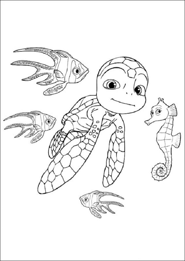 aventuras-de-sammy - Dibujos para colorear