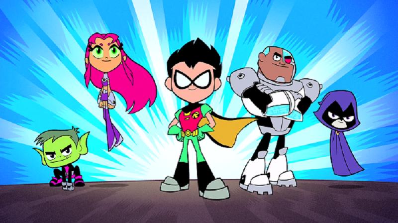 Teen Titans Go Para Colorear Dibujos Para Colorear